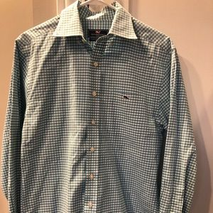 Men's Vineyard Vines Classic Fit Tucker Shirt Sz S